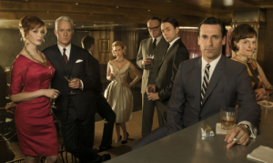 Mad Men Season Five, 2012 (As in the Season of the 'Winter of Discontent' which is to say every season of Mad Men)