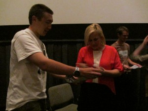 Boyhood Q and A with Patricia Arquette and Ellar Coltrane