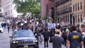 Protest for George Floyd and Black Lives Matter March – Boston